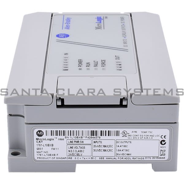1761-L10BXB Controller | MicroLogix 1000 In-Stock. Ships Today ...