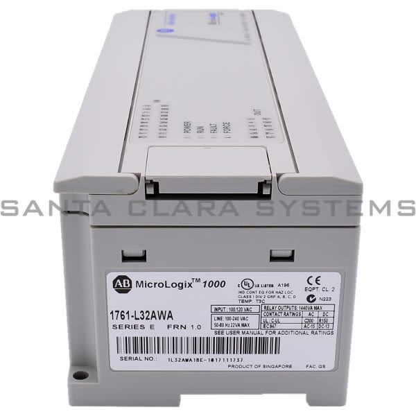 1761-L32AWA Allen Bradley In stock and ready to ship - Santa Clara ...