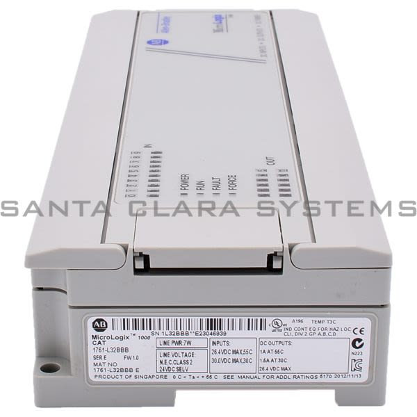 1761-L32BBB Allen Bradley In stock and ready to ship - Santa Clara ...