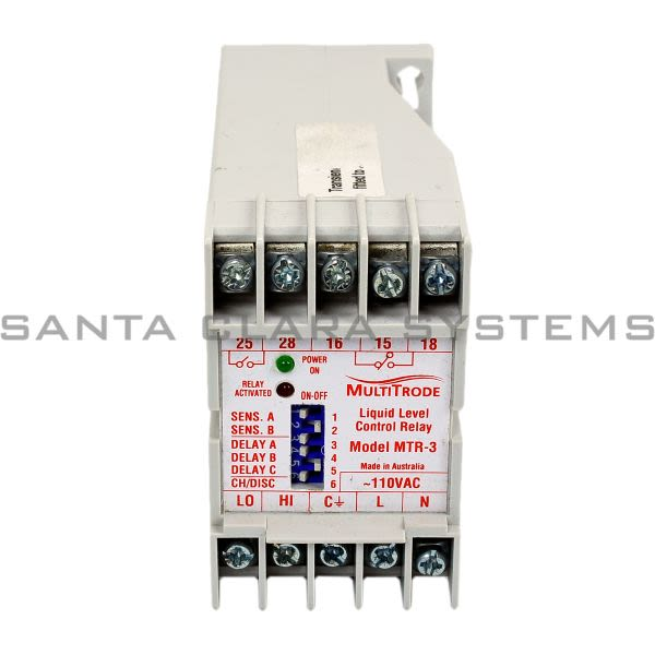 mulrode mtr 3 liquid level control relay product image