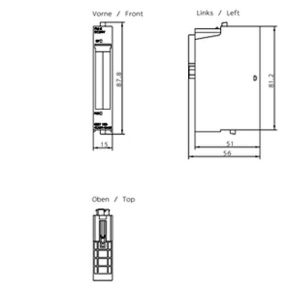 6es71384ca010aa0 Siemens Power Module Simatic Et200s