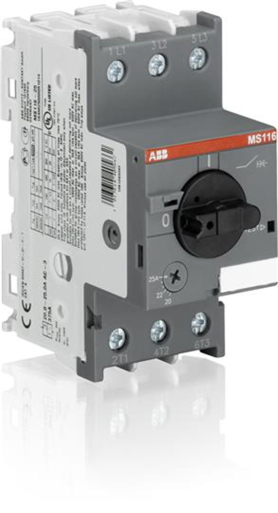 Ms116 63 Manual Motor Starter 1sam250000r1009 In Stock And Ready Abb Starters Control Wiring Diagram Product Image