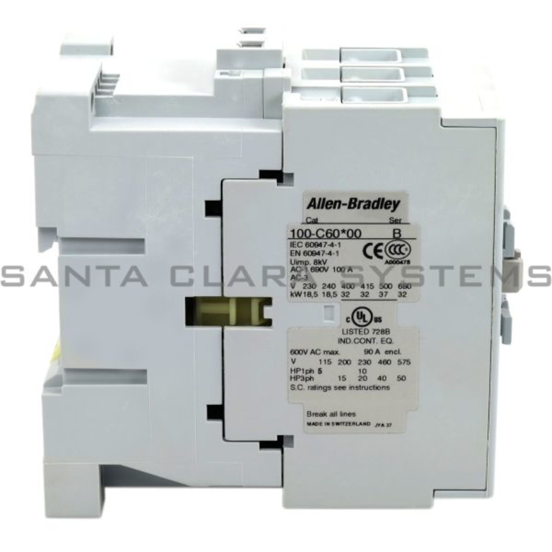 100-C60K00 Allen Bradley In stock and ready to ship - Santa