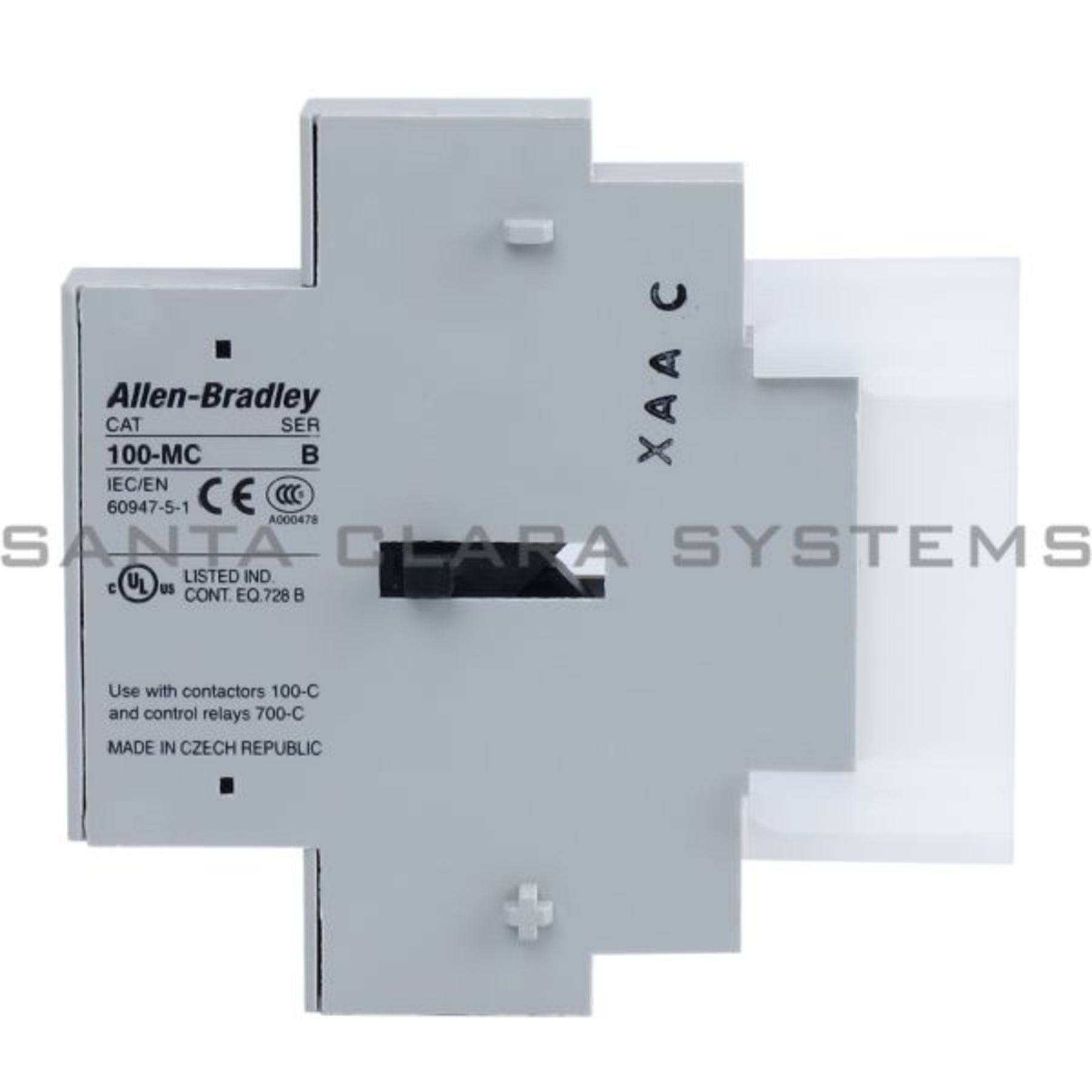 100-MCA00 Allen Bradley In stock and ready to ship - Santa Clara Systems