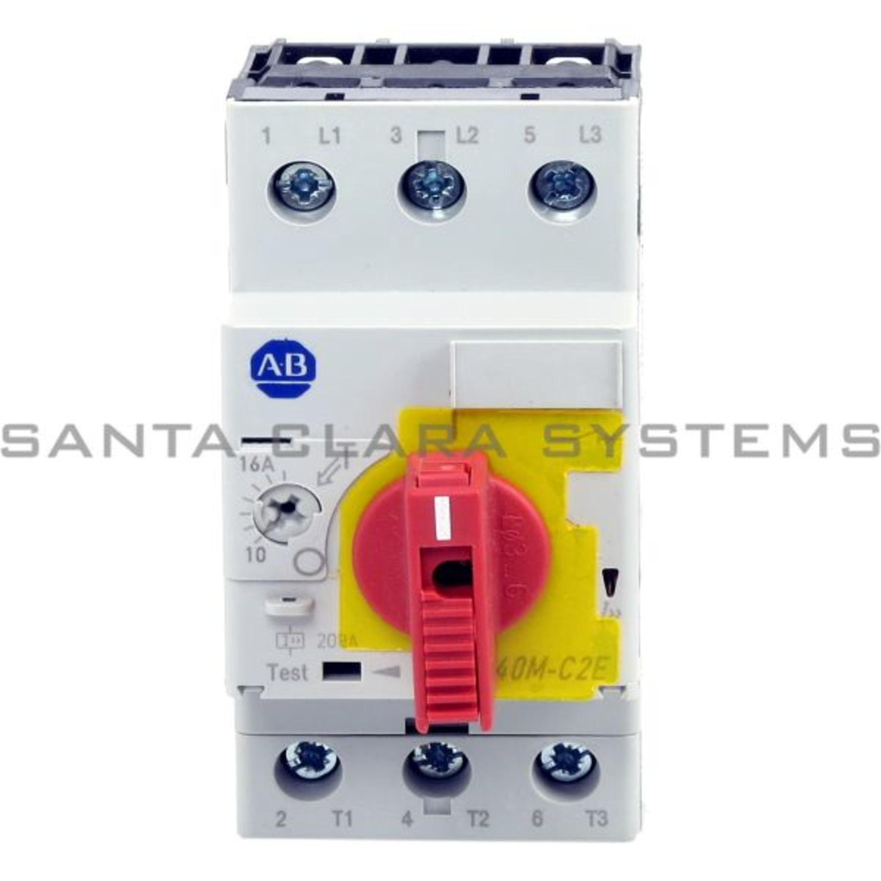 140m C2e C16 Ky Motor Protection Circuit Breaker Allen Bradley In Small Product Image