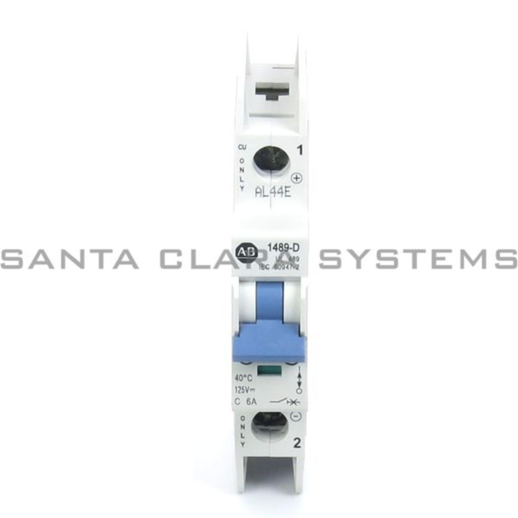 1489 D1c060 Circuit Breaker In Stock Ships Today Santa Clara Systems Portable Allen Bradley Product Image