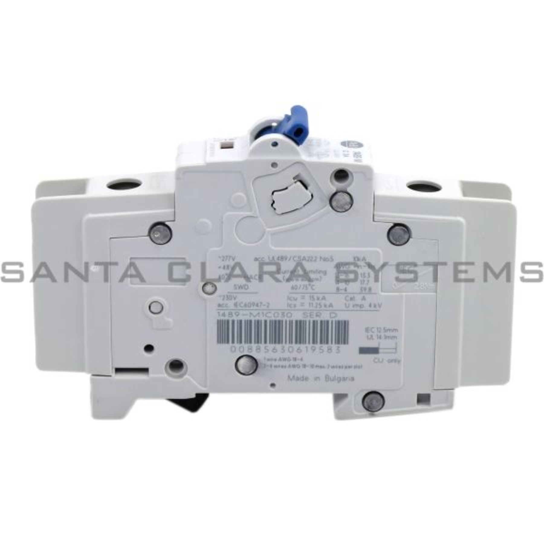Allen Bradley 1489-M1C030 Miniature Circuit Breaker Product Image