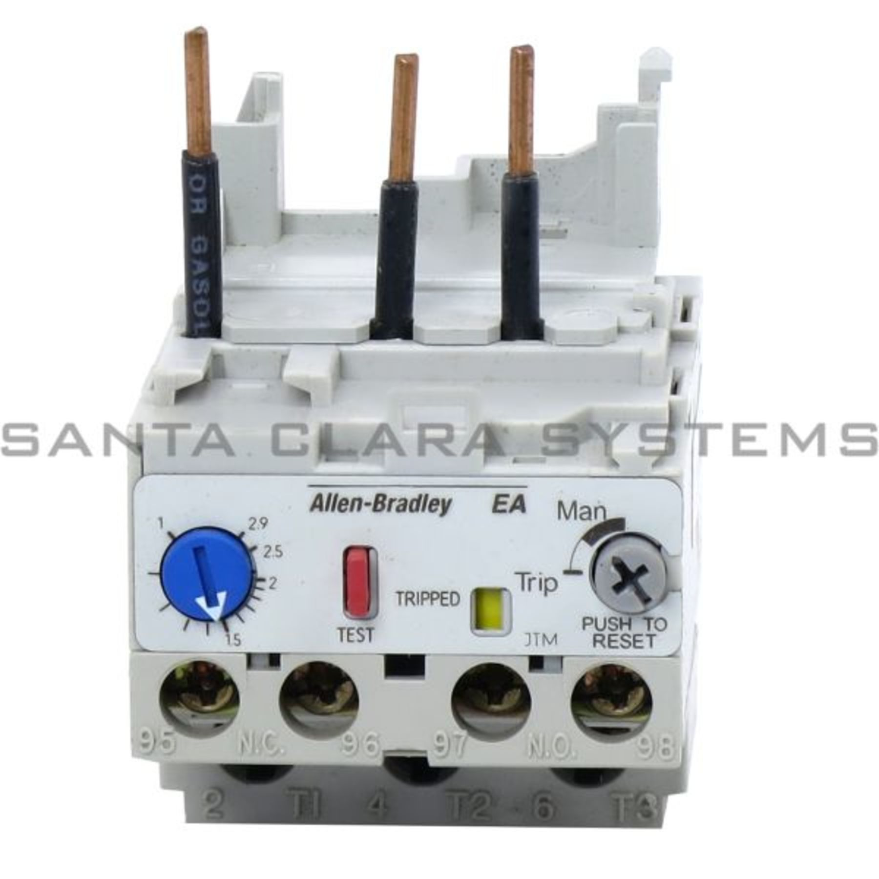 193 Ea1db Allen Bradley In Stock And Ready To Ship Santa Clara Systems Abb Solid State Overload Relay Product Image