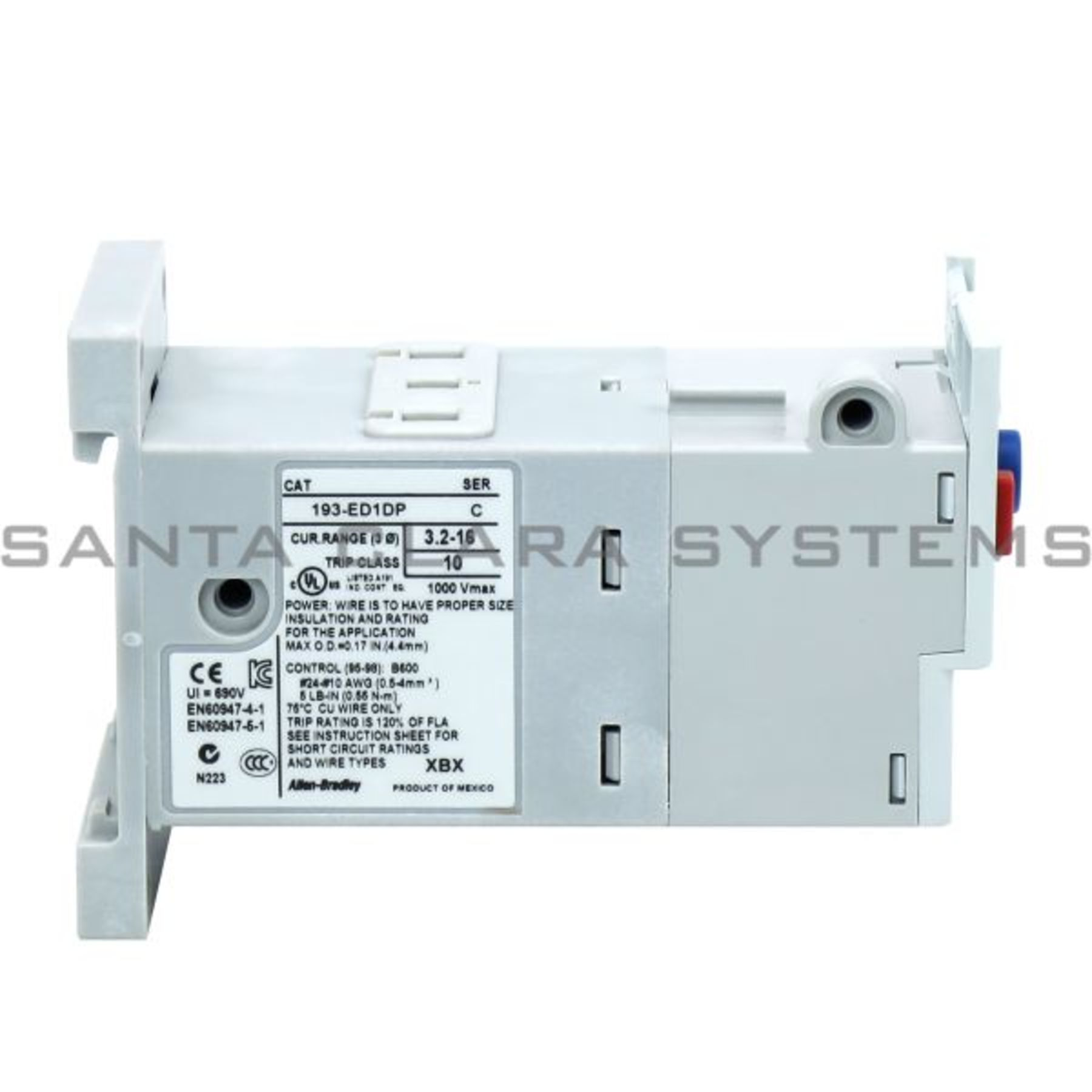193-ED1DP Allen Bradley In stock and ready to ship - Santa Clara Systems