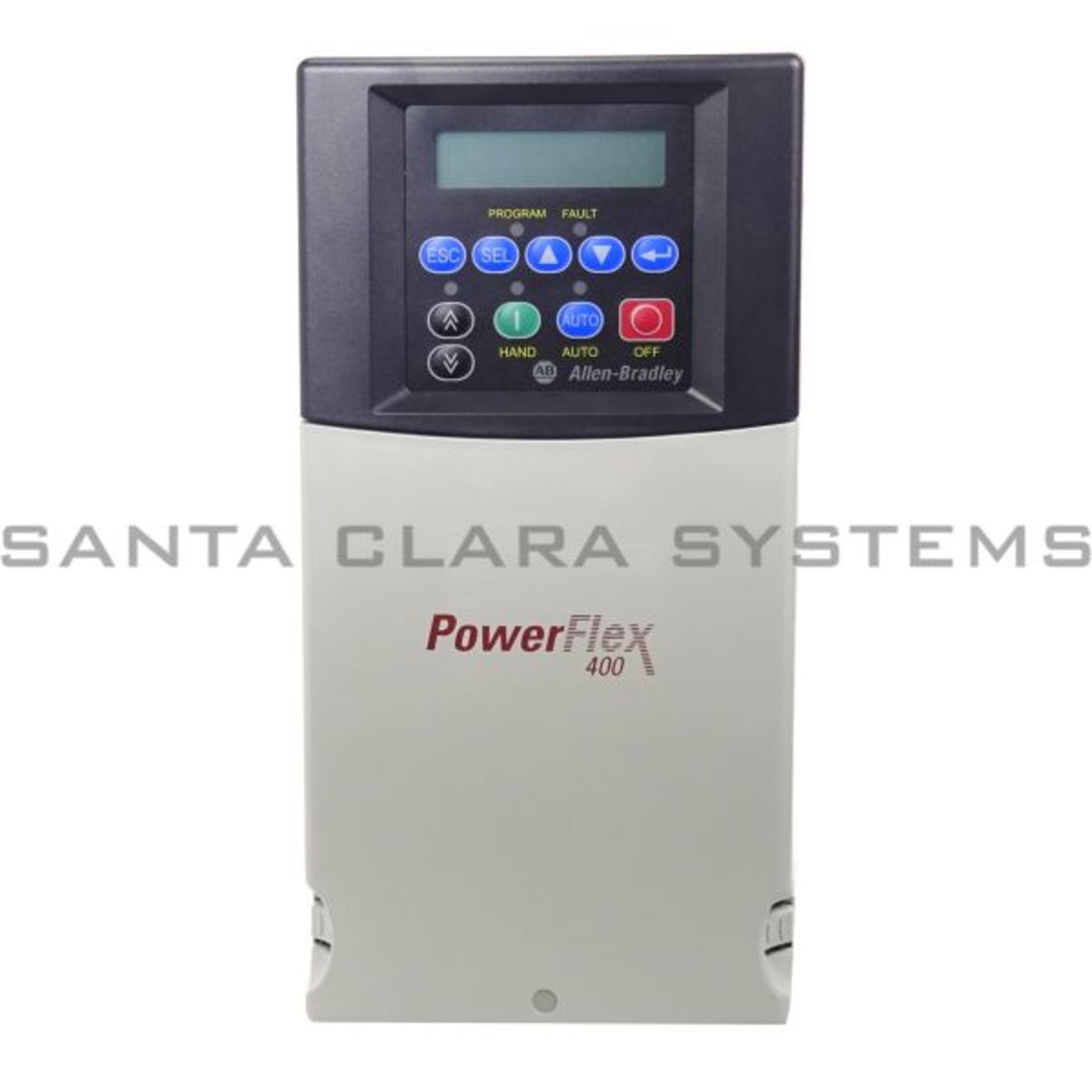Allen Bradley 22C-D022N103 PowerFlex 400 AC Drive Product Image