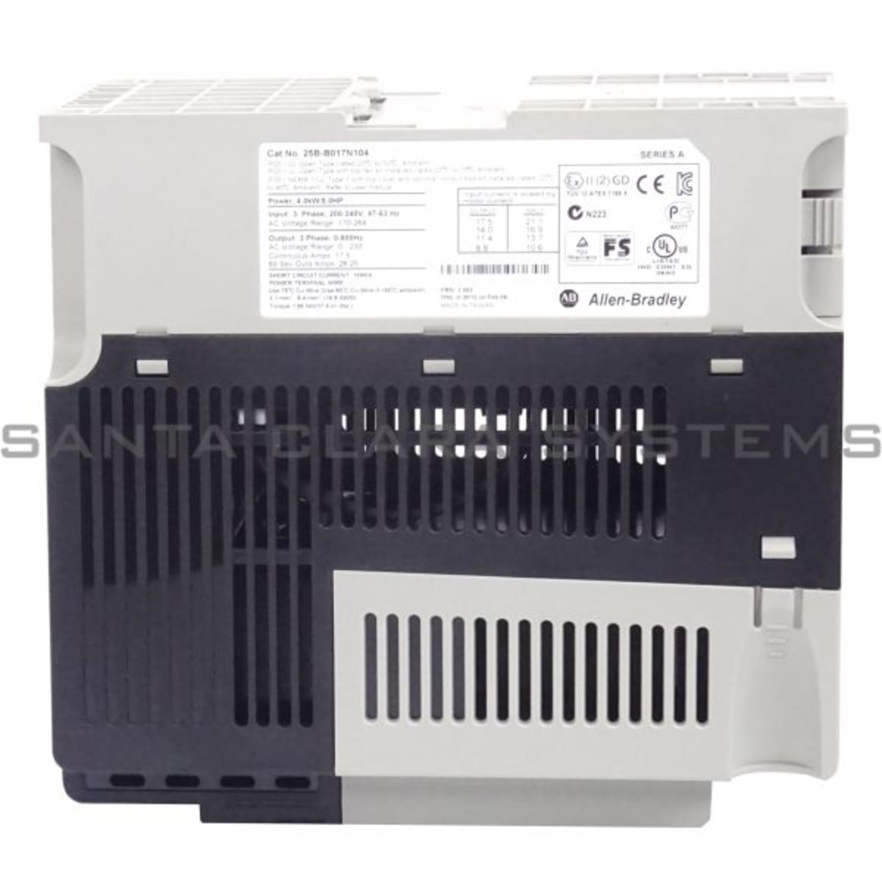 25B-B017N104 Allen Bradley In stock and ready to ship
