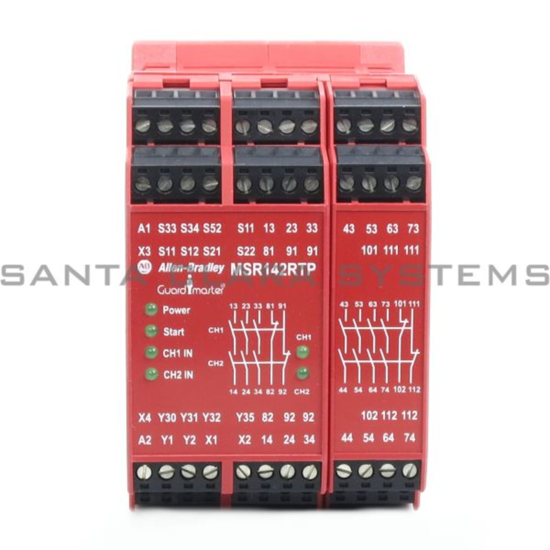 440r G23216 Allen Bradley In Stock And Ready To Ship Santa Clara Basic Safety Relay Circuit Guardmaster Msr142 Product Image