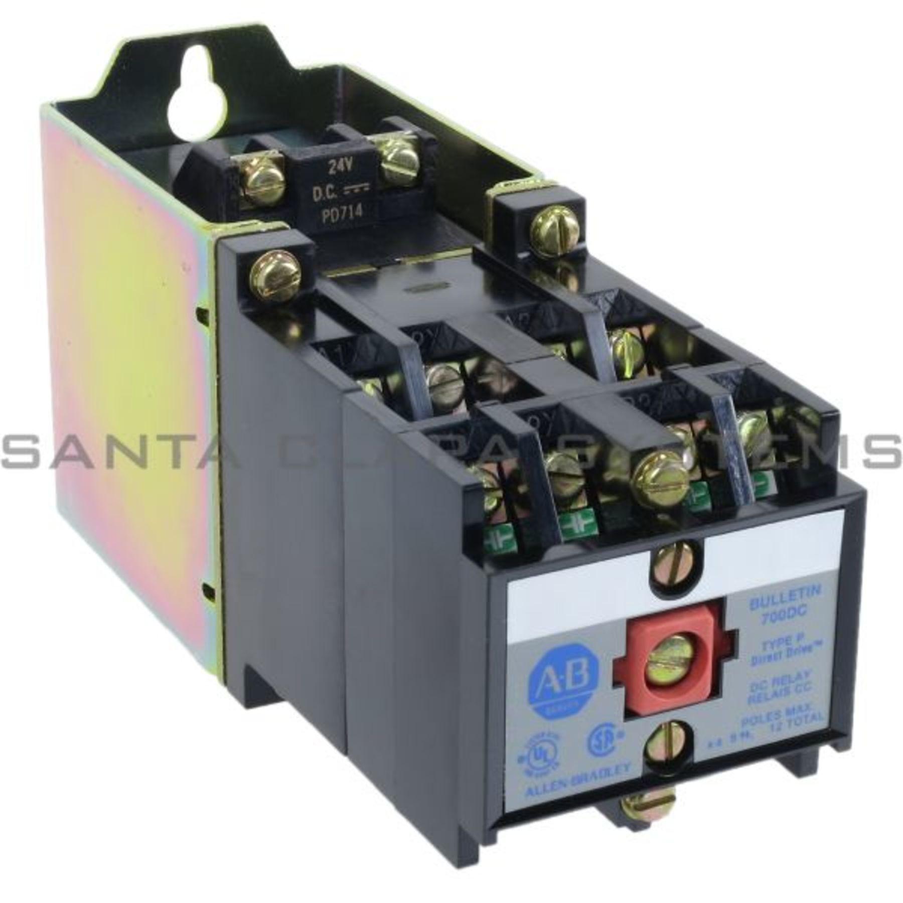 Allen dley Control Relay 700DC-P800Z24 En stock y listos ... on