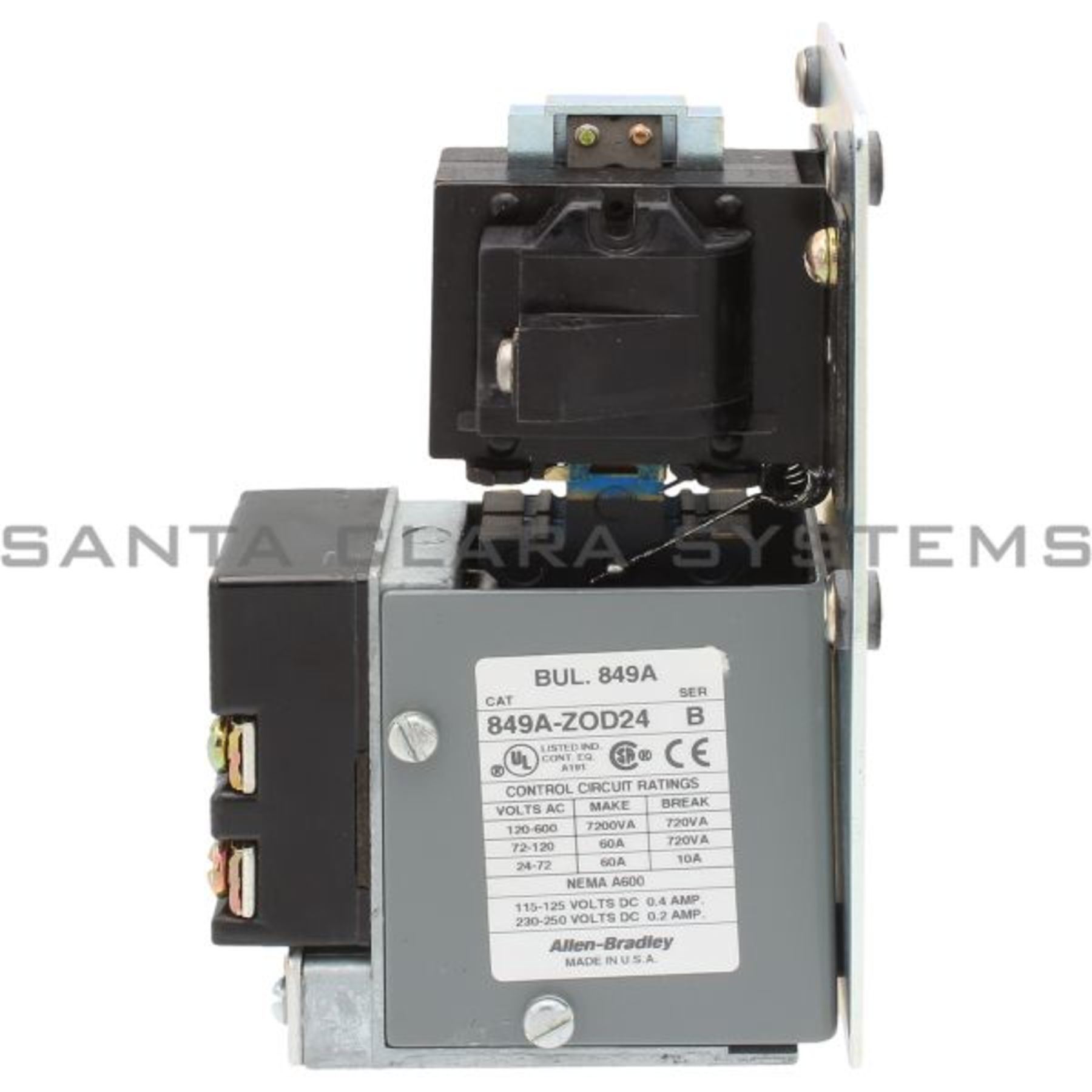 849a Zod24 Allen Bradley In Stock And Ready To Ship Santa Clara Relay Timing Circuit Pneumatic Product Image