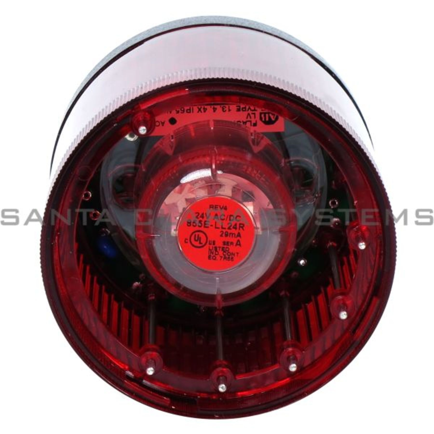 855t B24gl4 Control Tower Stack Light Red Flashing Led Allen Brakelight Flasher Brake Pulsing Bradley Product Image