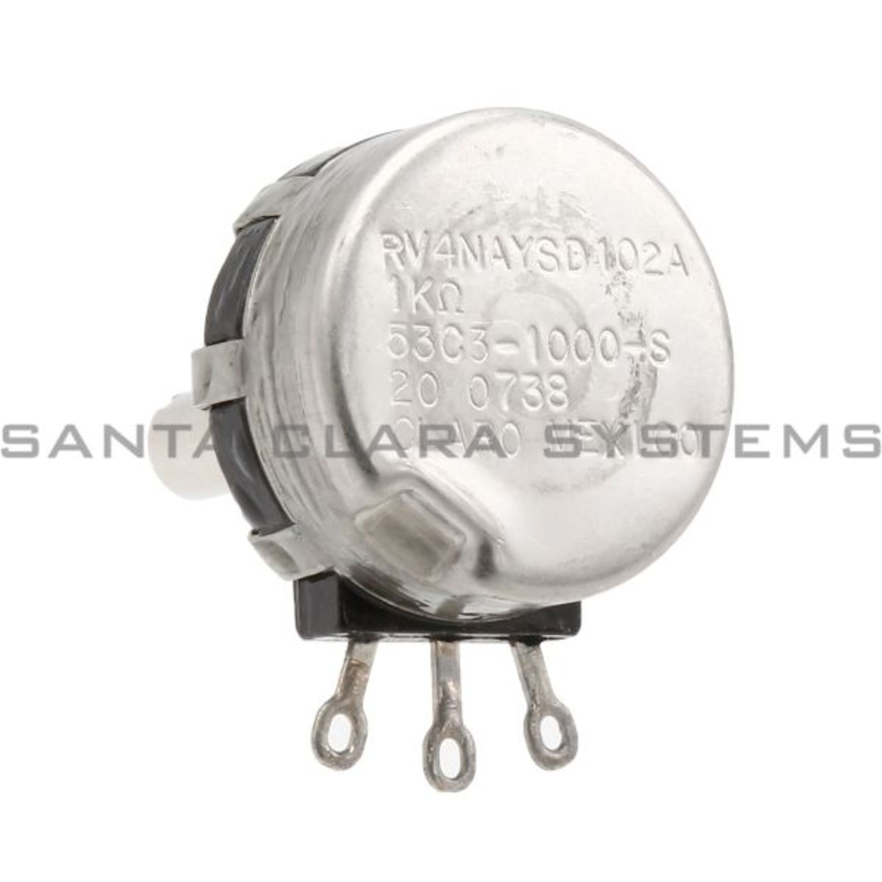 Rv4naysd102a Potentiometer 1kohm Type J In Stock Ships Today Clarostat Wiring Product Image