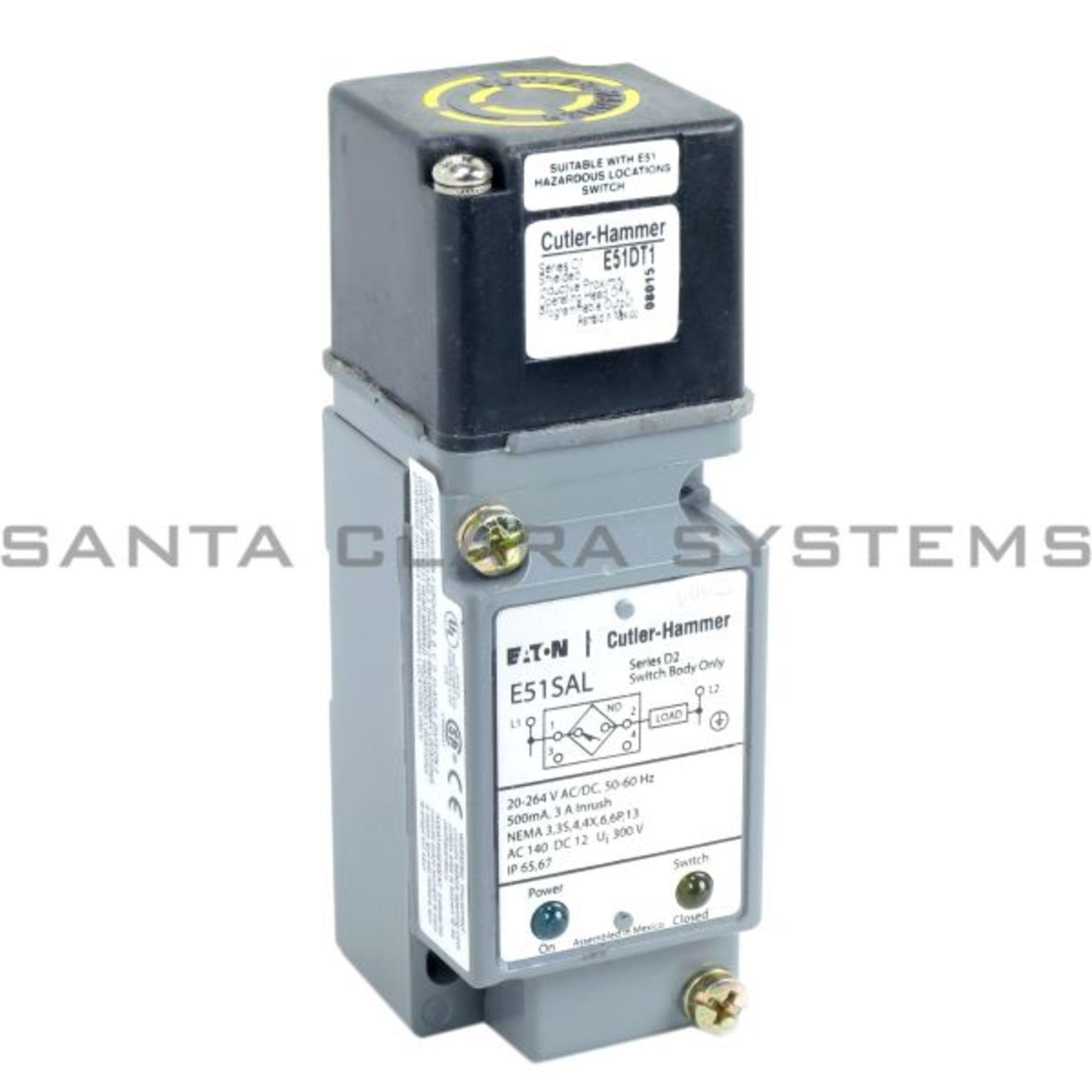 Cutler-Hammer Proximity Sensor E51ALT1 In-Stock. Ships Today - Santa ...