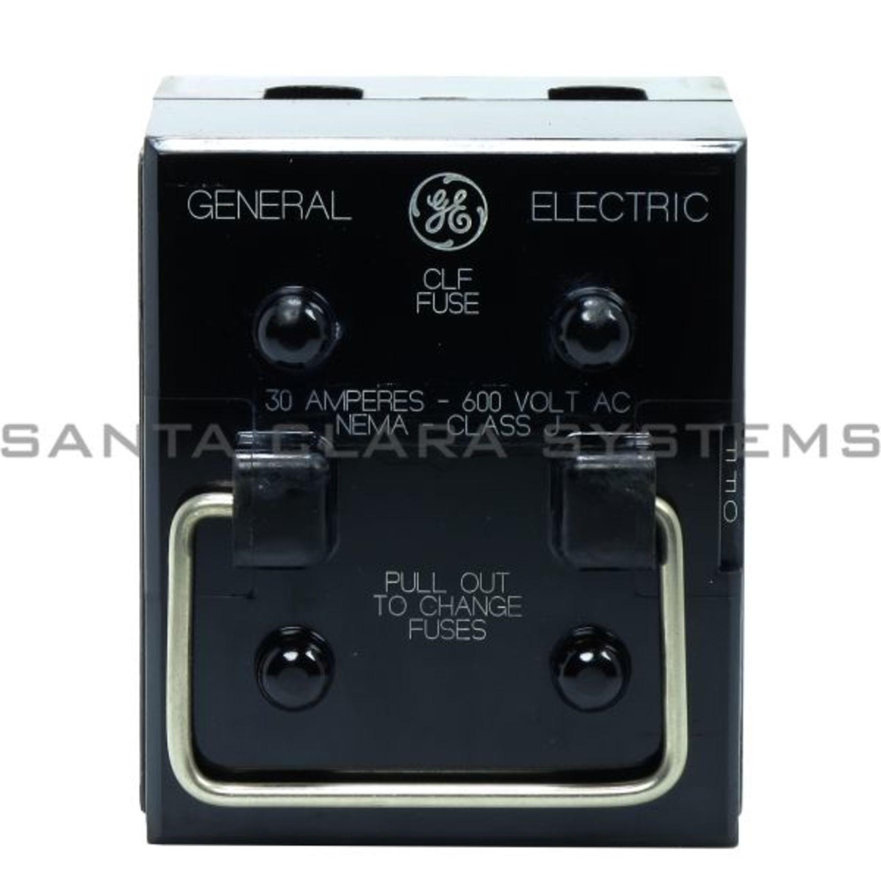 116b4078 General Electric Fuse Block Santa Clara Systems Obsolete Ge Box Product Image