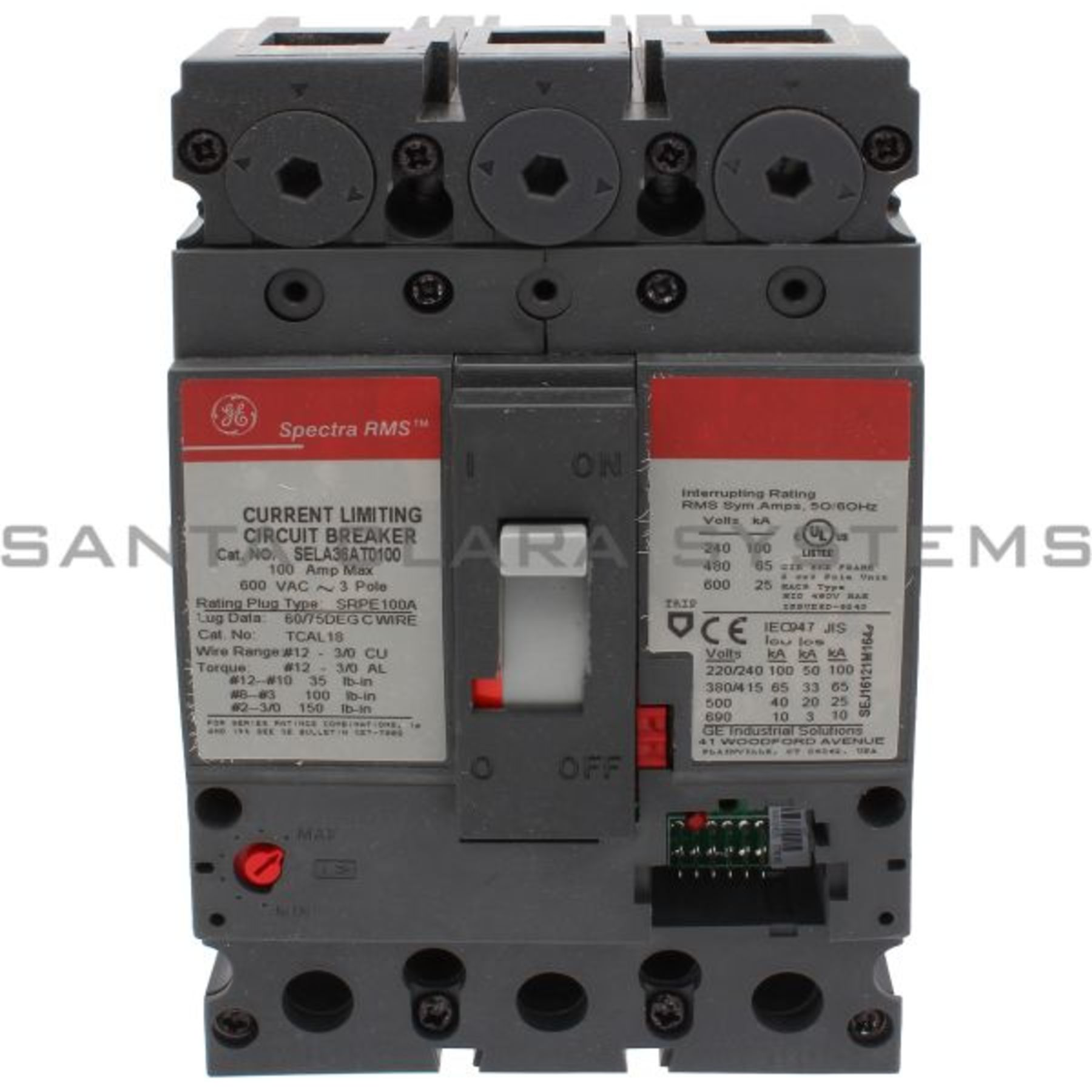 SELA36AT0100 General Electric In stock and ready to ship - Santa ...