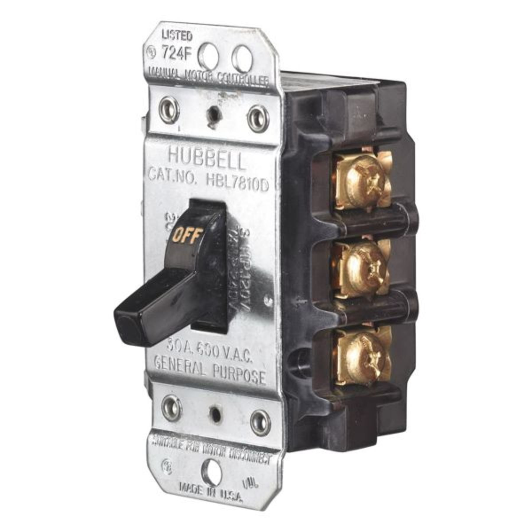 HBL7810D Manual Motor Disconnect Switch | CIRCUIT-LOCK In-Stock ...