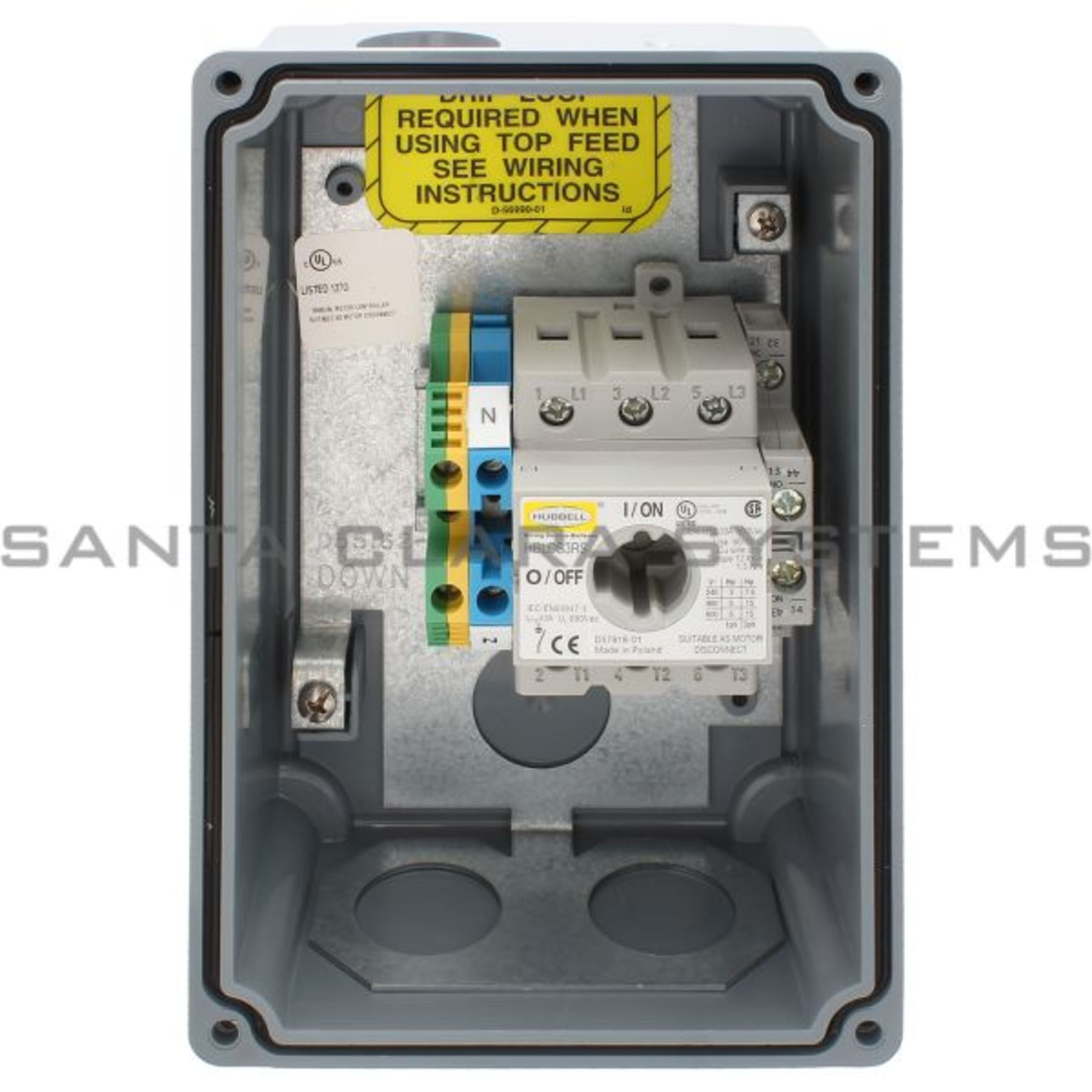 HBLDS3AC Hubbell In stock and ready to ship - Santa Clara Systems