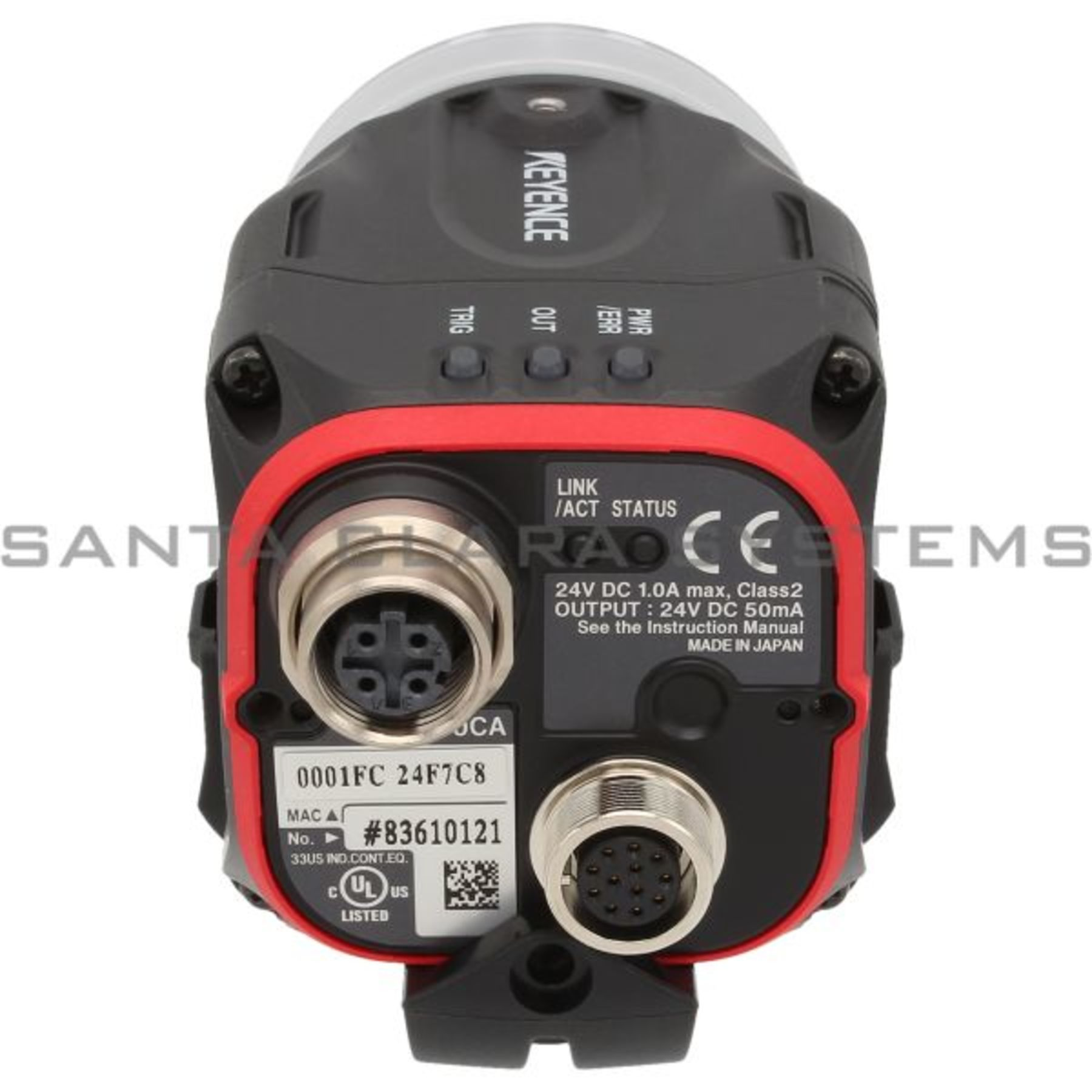 IV-500CA Vision Sensor Head In-Stock  Ships Today - Santa Clara Systems