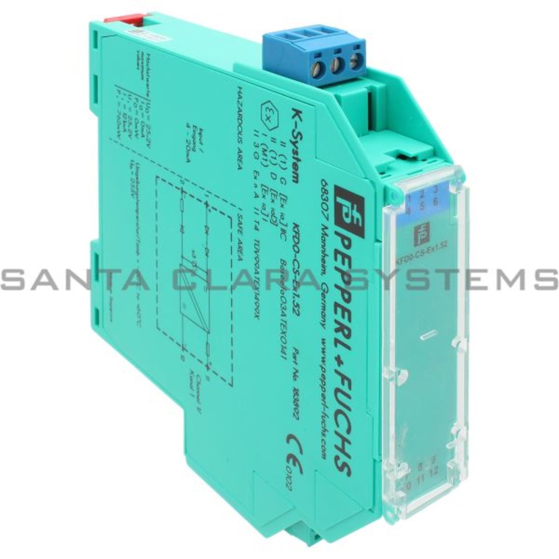 Kfd0 Cs Ex152 Pepperl Fuchs Repeater Out Of Stock Santa Clara Systems Wiring Diagram Product Image