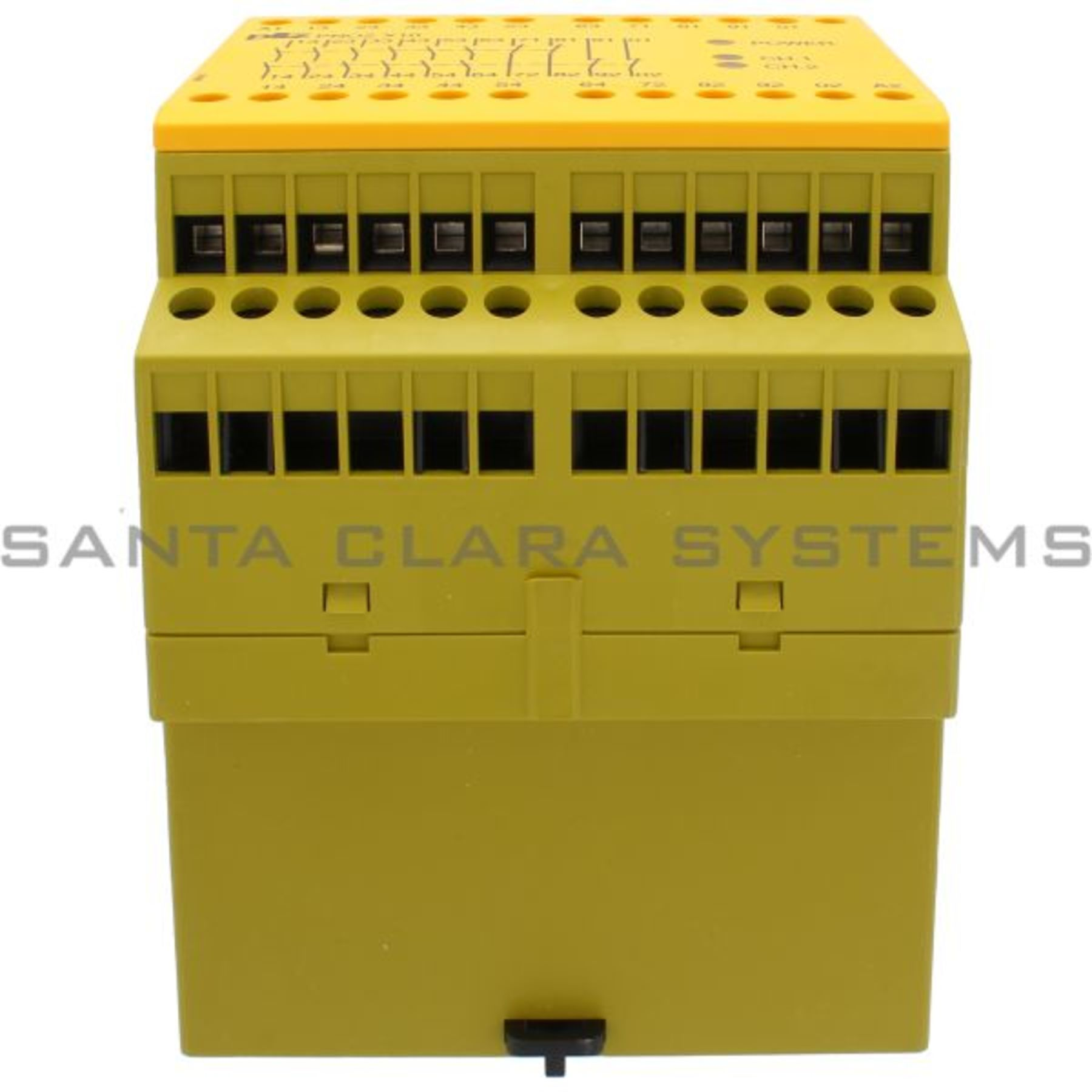 Pnozx1024vdc6n O4n C3led 774709 Safety Relay Standalone Inputs 1 Wiring A 24vdc Pilz Pnoz X10 6n O 4n C 3led