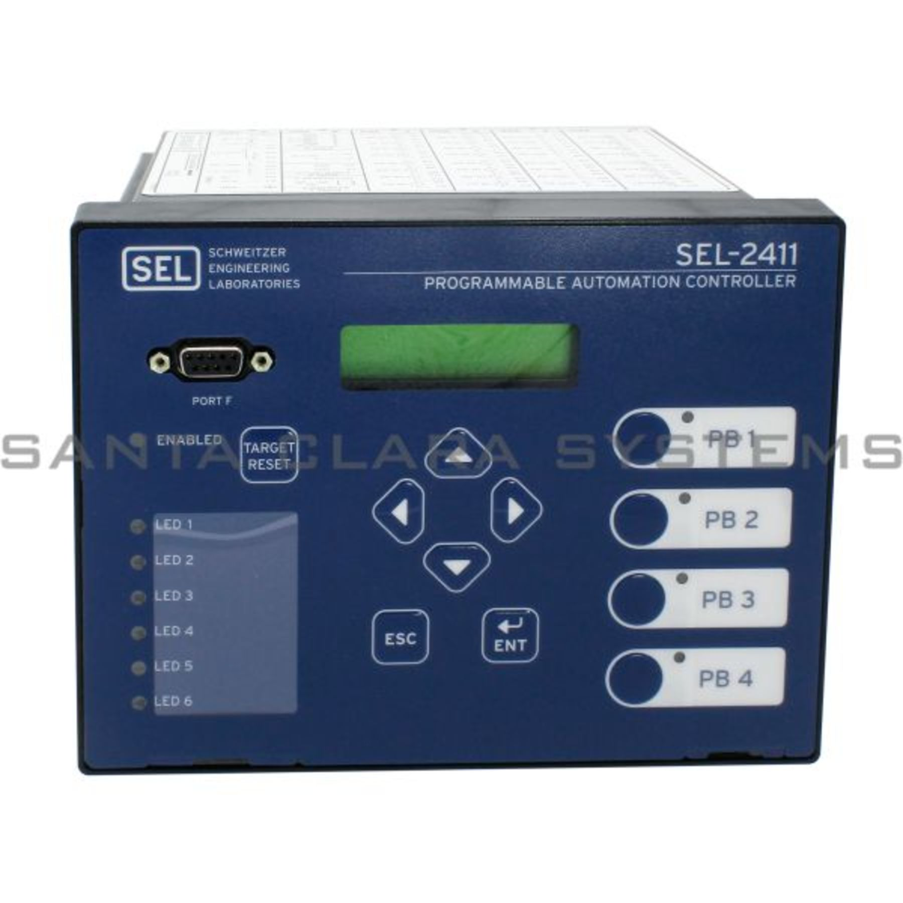 SEL 241102B3B3B2X5X0140 Programmable Automation Controller | Sel-2411  Product Image
