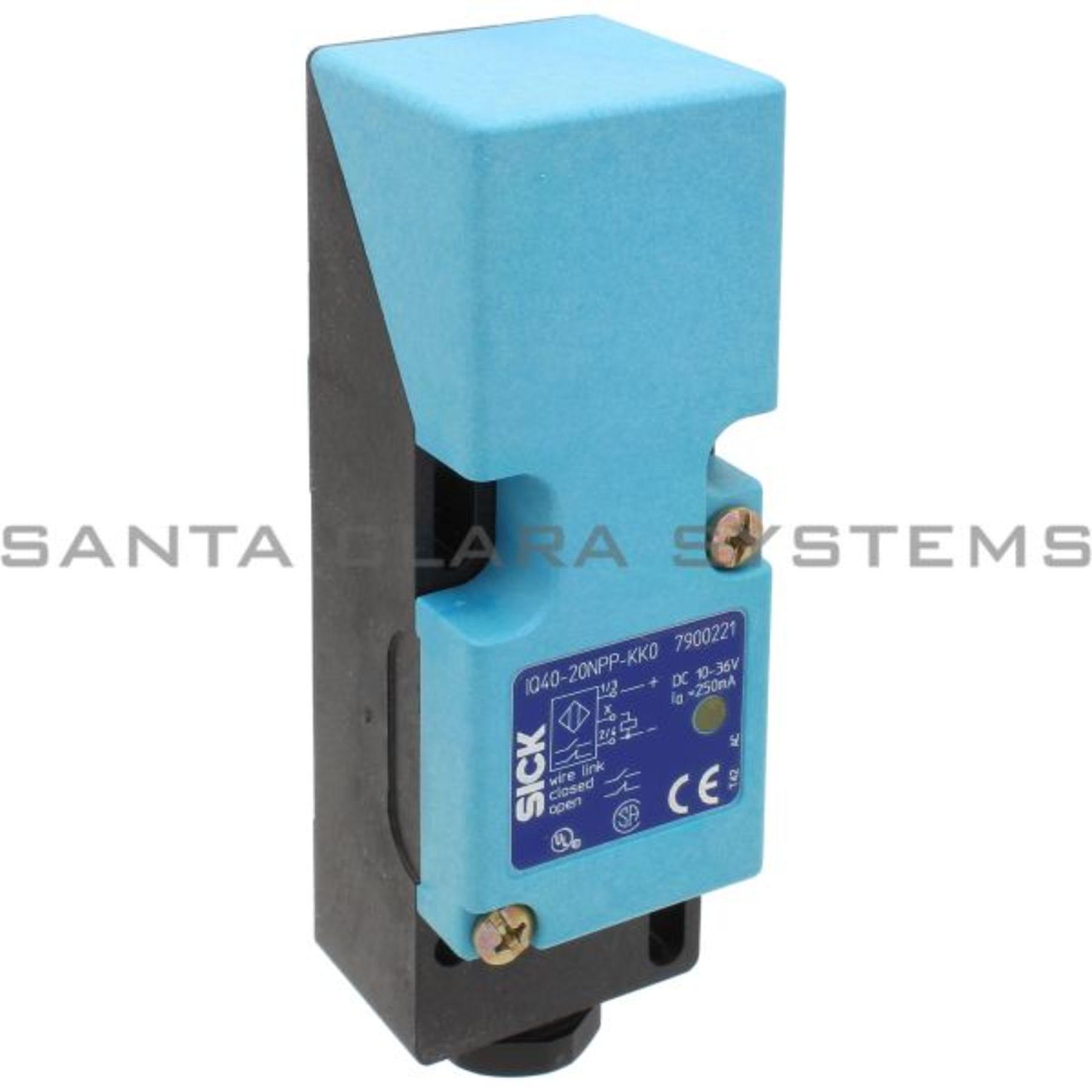 IQ40-20NPP-KK0 Inductive Proximity Sensor Unshielded 3-Wire ...