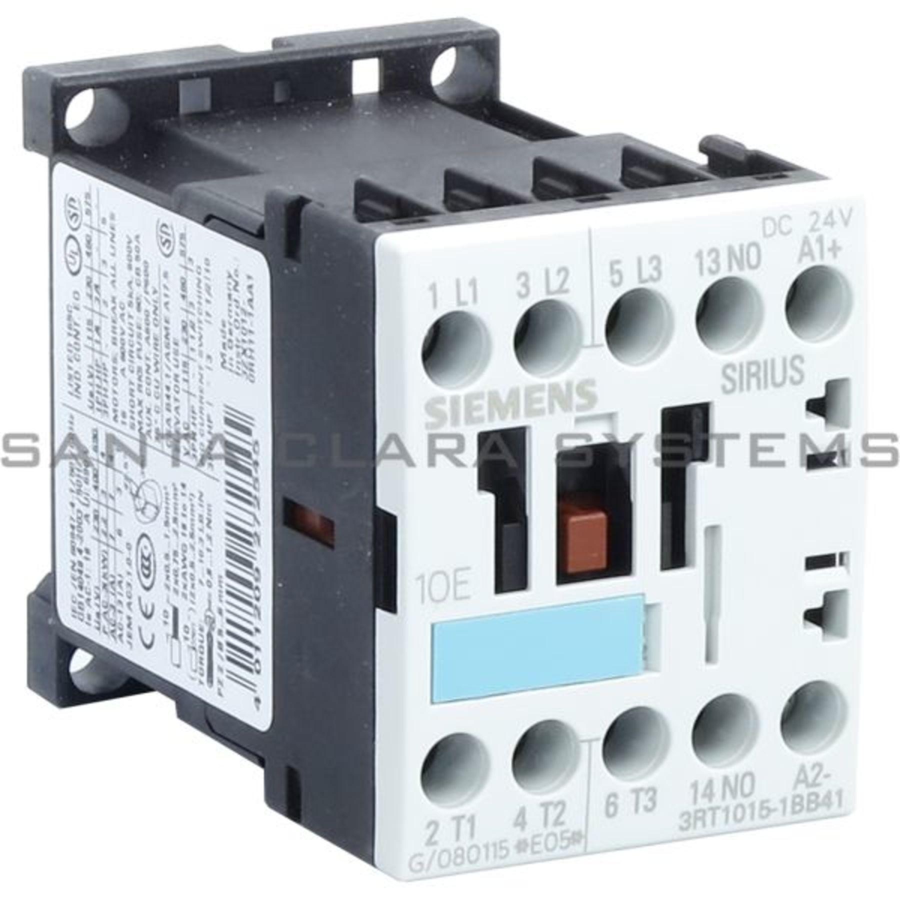 Siemens contactor 3RT1015-1BB41