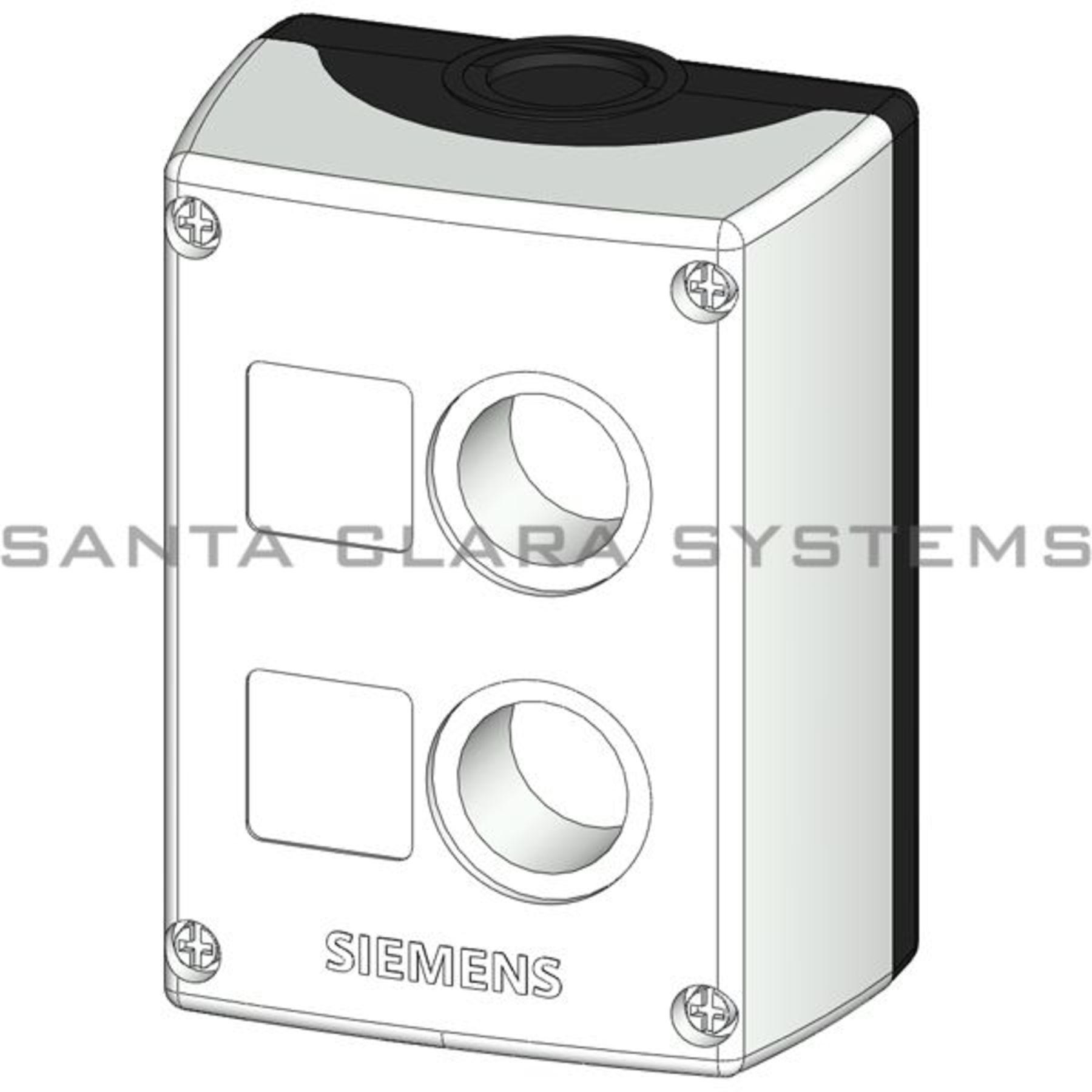 2x siemens 3sb3802-0aa3 3sb3 802-0aa3 carcasas para dispositivos de comando-used