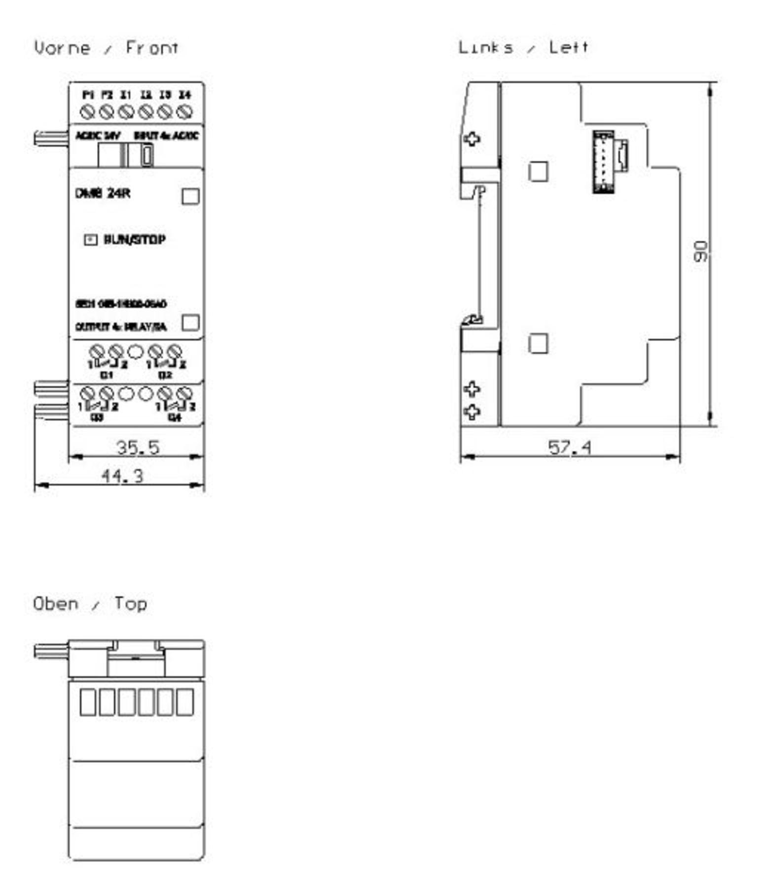 6ed1055 1hb00 0ba0 Siemens Expansion Module Santa Clara Systems