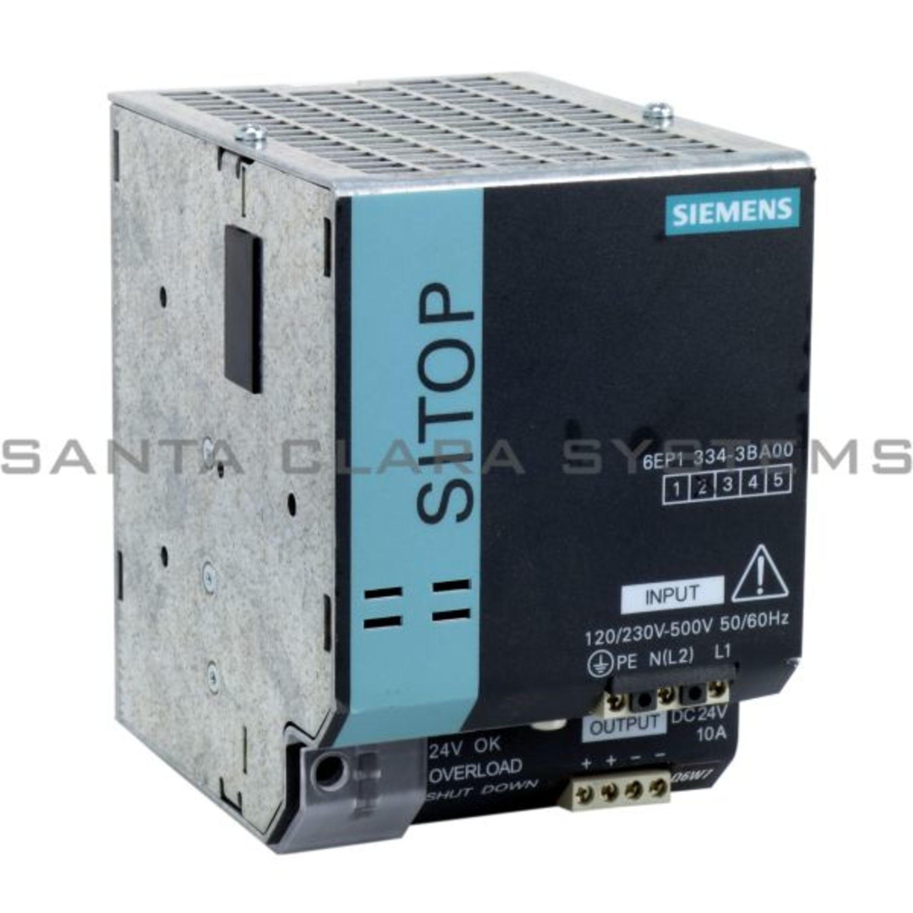 Siemens 6EP1334-3BA00 Sitop 6EP1 334-3BA00 E:01