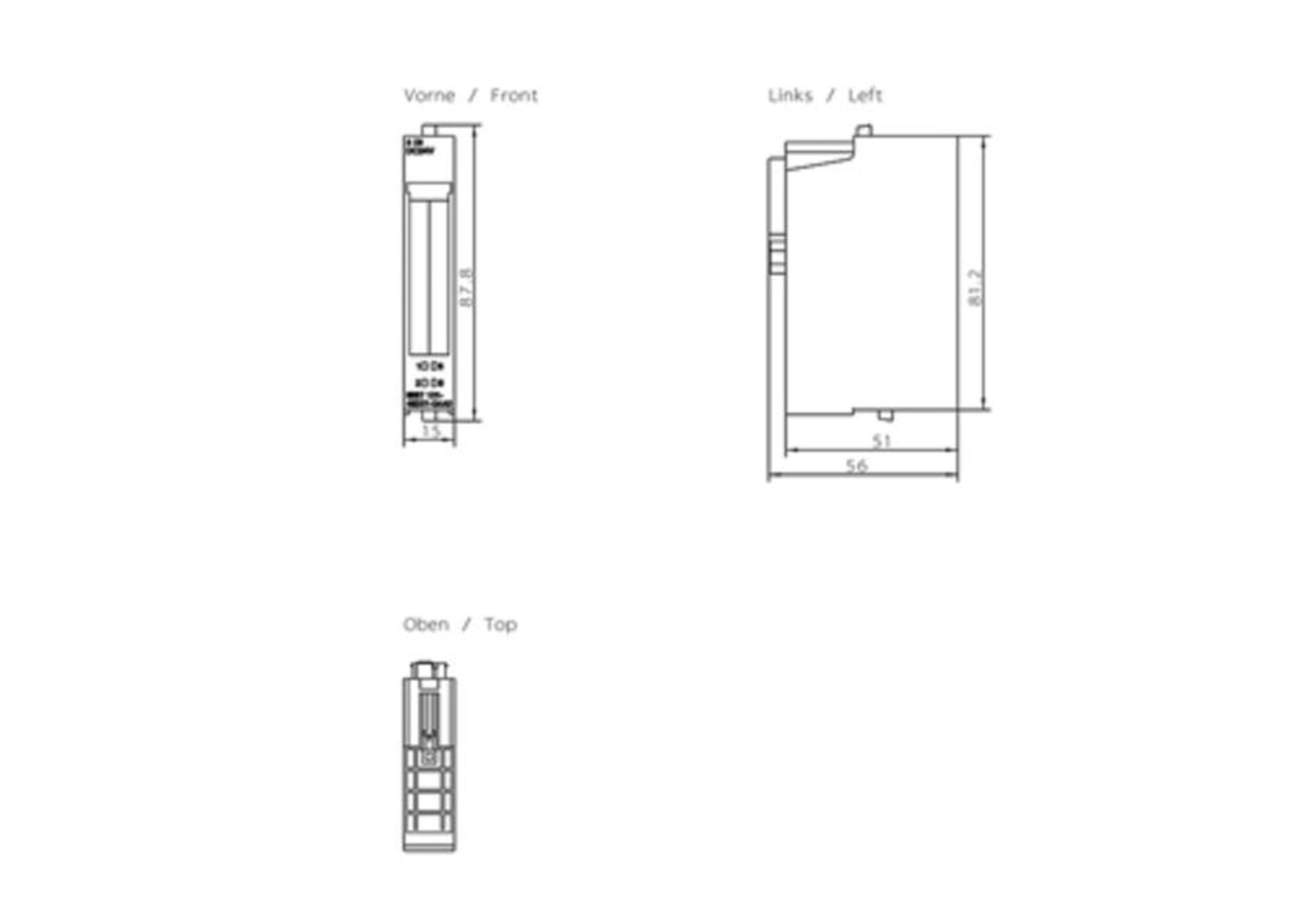 """.325/"""" 56TG 1,5mm passend für Dolmar 114 33cm Sägenspezi Kette Halbmeißel"""
