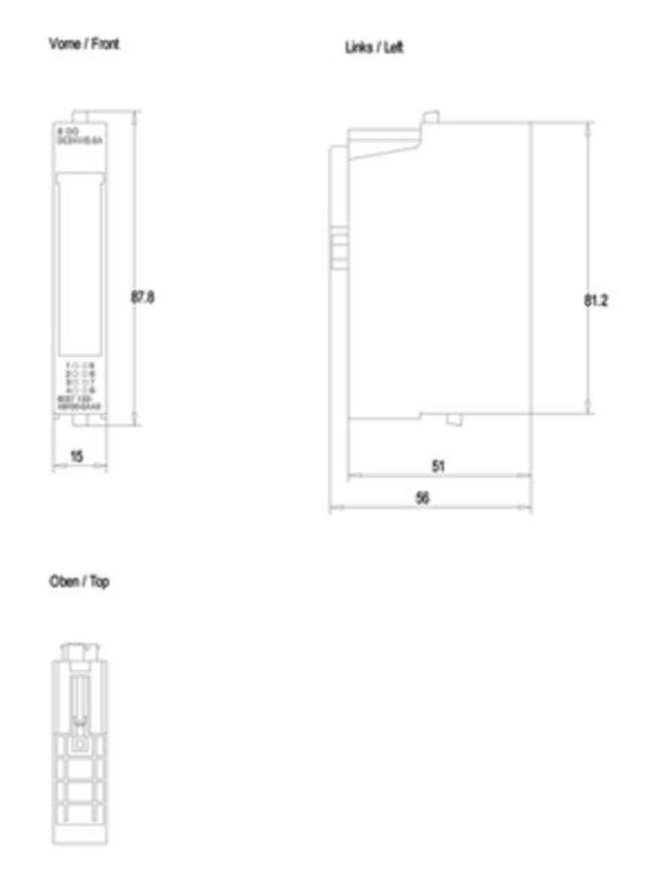 Siemens Simatic  6ES7 132-4BF00-0AA0  Digital Output Module
