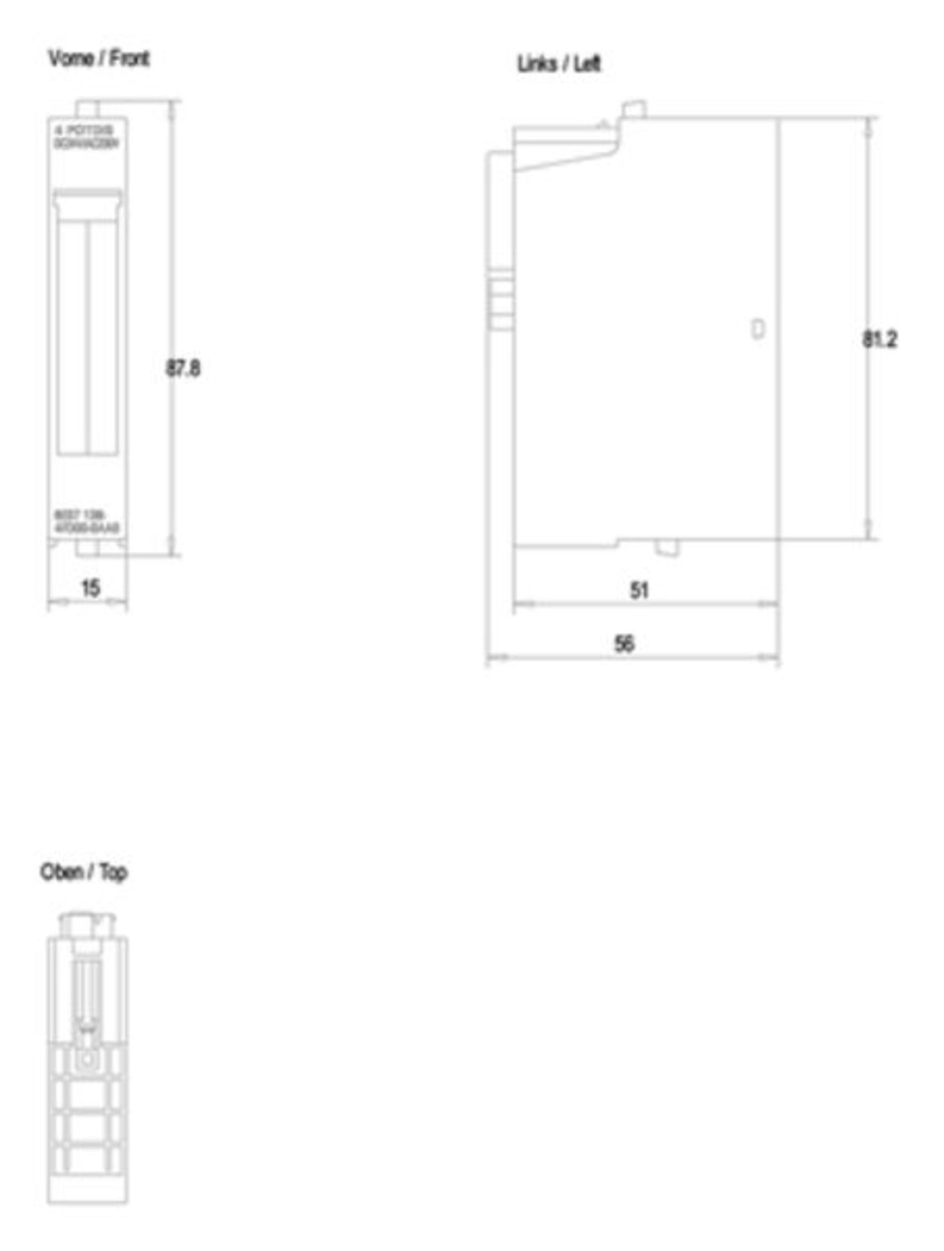 6es7138 4fd00 0aa0 Siemens Potential Distribution Module 6es7138