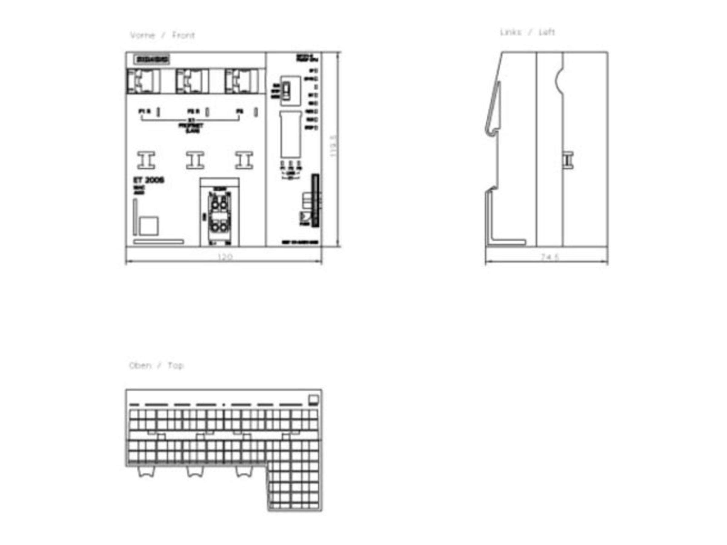 6ES7151-8AB01-0AB0 Interface Module | IM 151-8 PN/DP