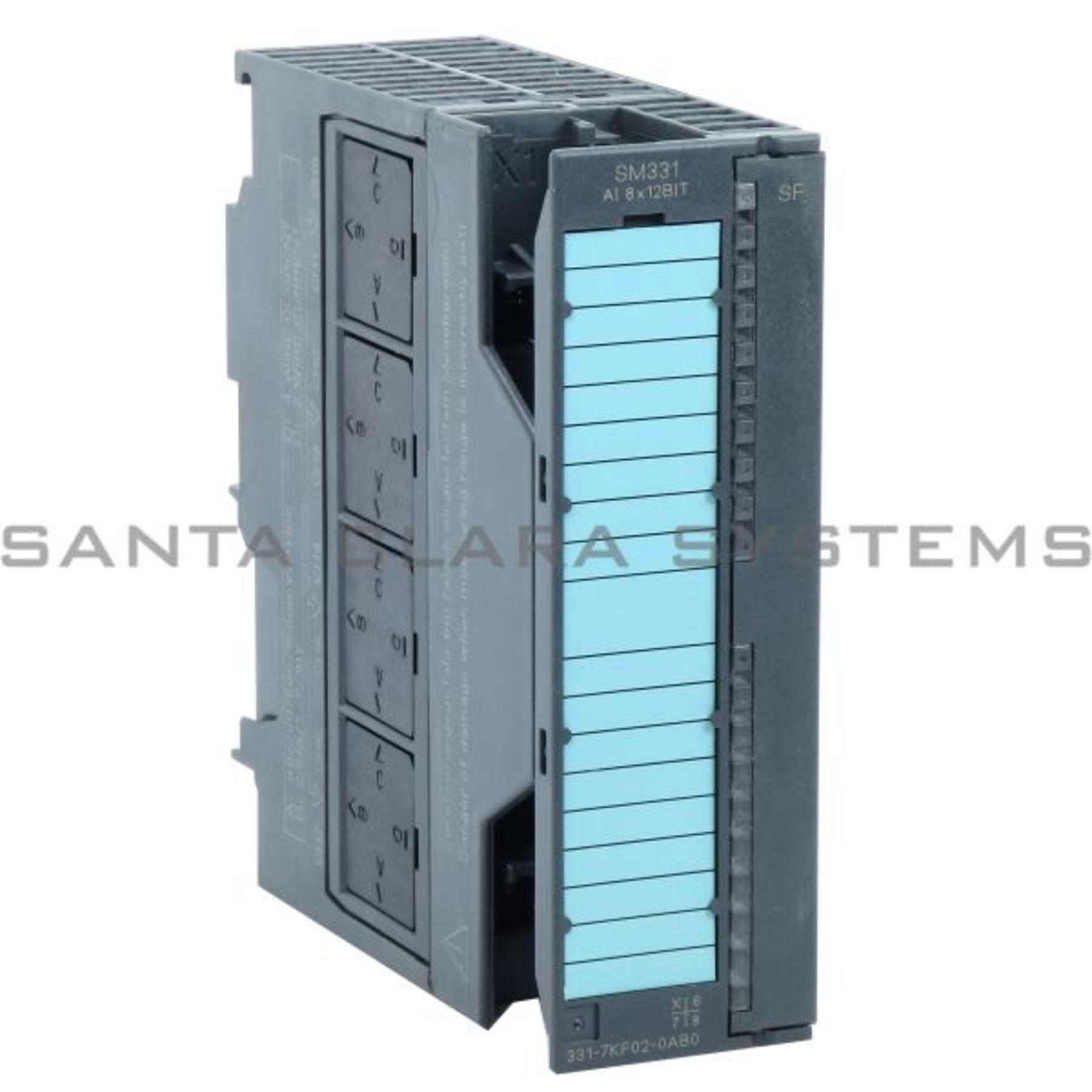 used SIEMENS Simatic S7 Analog Input SM331 AI8 6ES7 331-1KF02-0AB0 Garantie