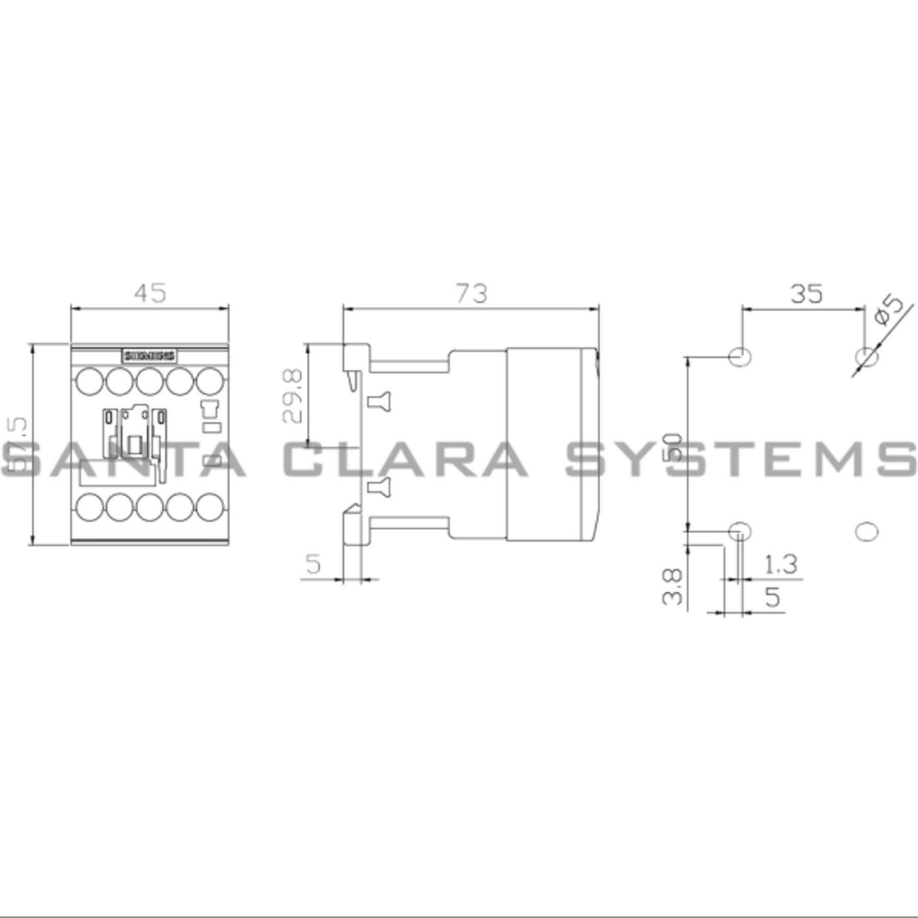 Siemens Lighting Contactor Wiring Diagram