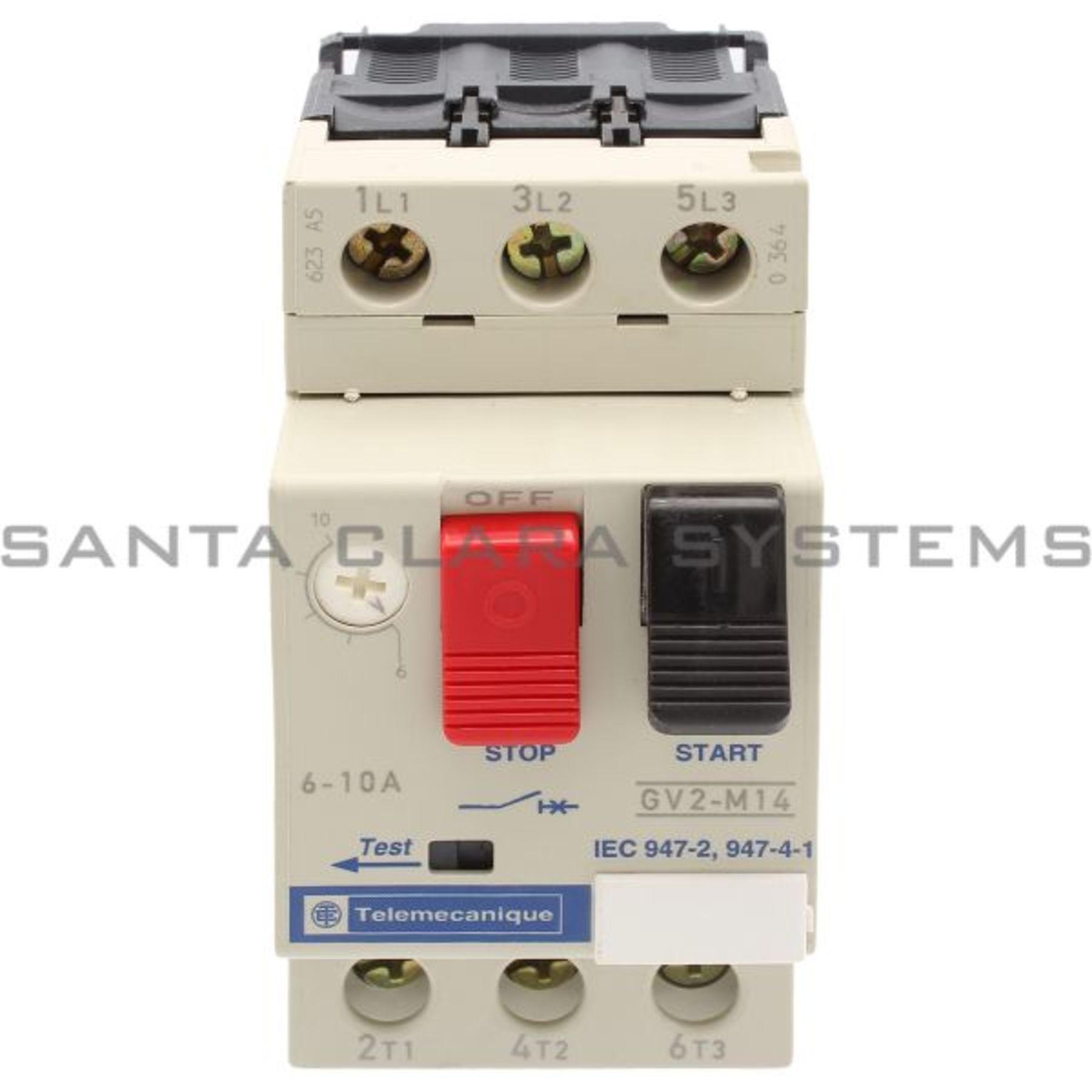 Telemecanique GV2M14 Industrial Control System for sale online