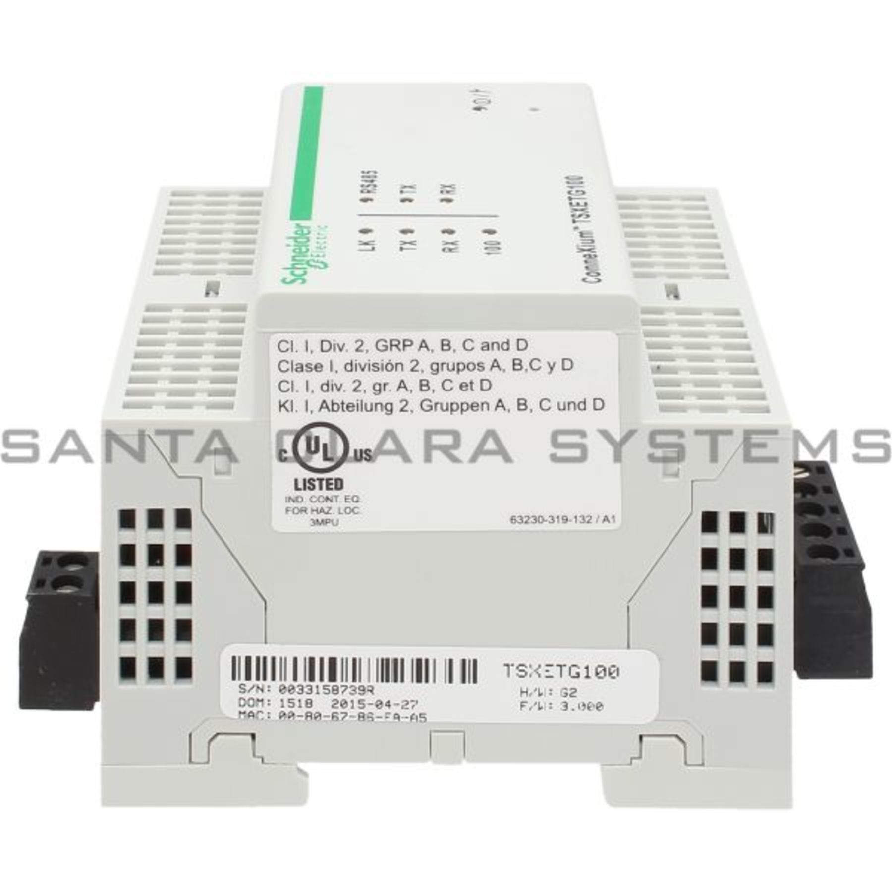 TSXETG100 Telemecanique In stock and ready to ship - Santa