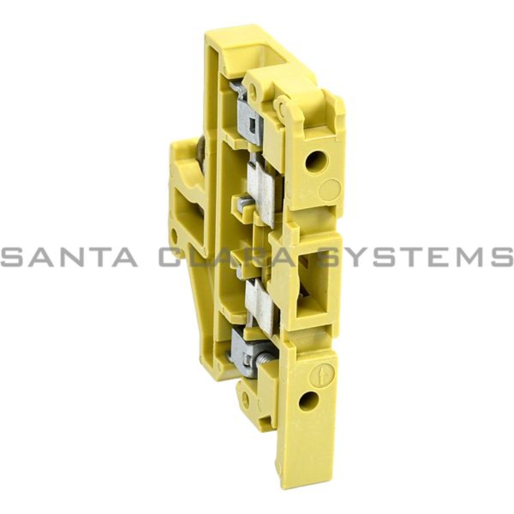 ASK-1 Terminal Block Fused 6 3 AMP 500 VAC Weidmuller In Stock