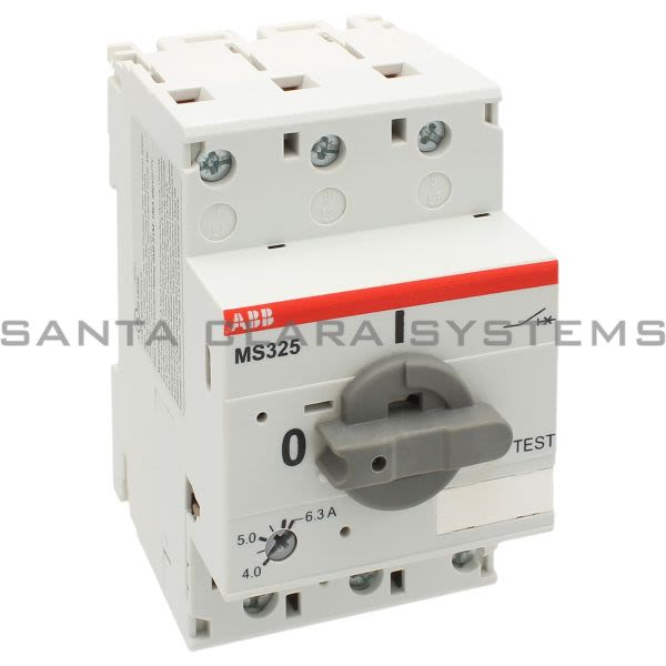 ABB MS325-6.3 Manual Motor Starter | MS325-6.3 Product Image