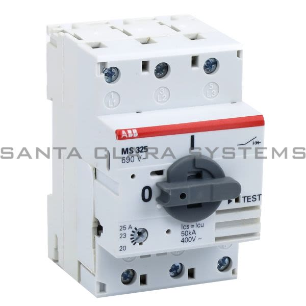 ABB MS325-25.0 Manual Motor Starter | MS325-25.0 Product Image