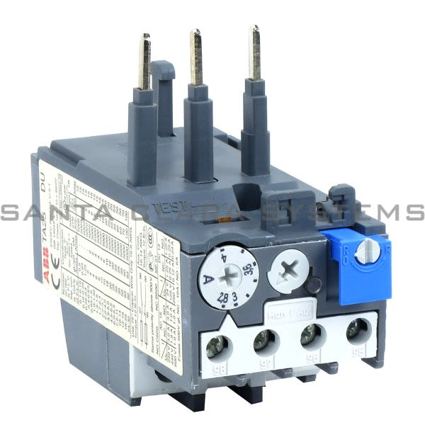 ABB 1SAZ211201R1033 Thermal Overload Relay | TA25DU-4.0 Product Image