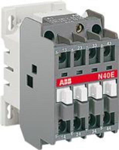 ABB 1SBH141001R8440 N40E 110V 50Hz / 110-120V 60Hz Contactor Relay Product Image