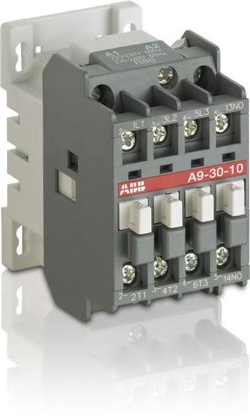 ABB 1SBL141001R4210 A9-30-10 230-240V 50Hz / 277V 60Hz Contactor Product Image