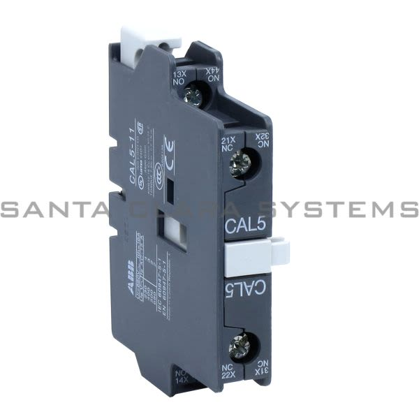 ABB 1SBN010020R1011 Auxiliary Contact Block | CAL5-11 Product Image