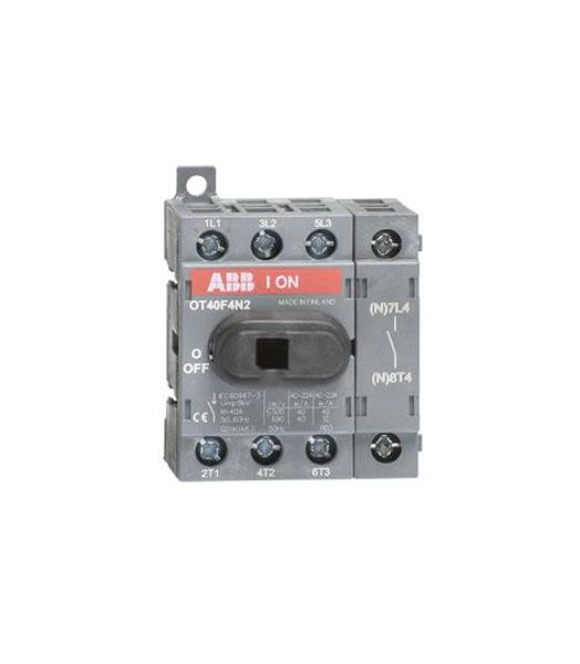 ABB 1SCA104932R1001 OT40F4N2 switch-disconnector Product Image